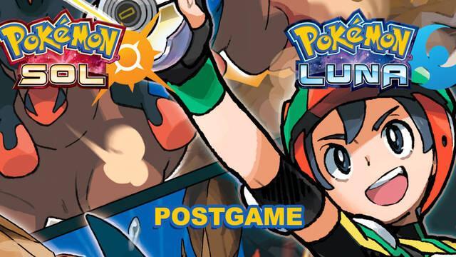 Postgame: ¿Qué hacer tras terminar Pokémon Sol y Luna?