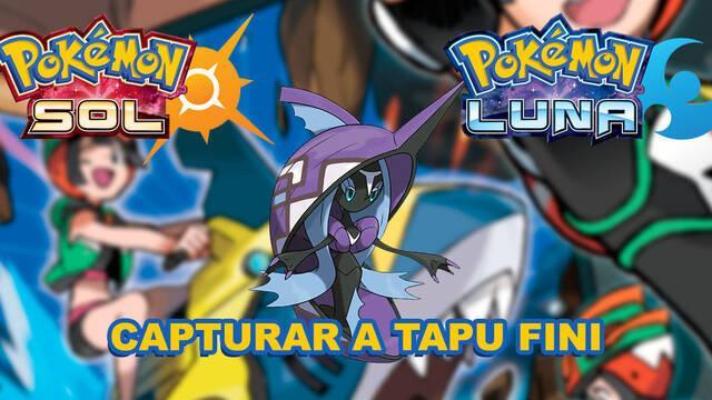 Tapu Fini, cómo y dónde capturarlo en Pokémon Sol y Luna