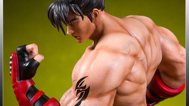 El protagonista de Tekken, Jin Kazama, recibe estas cuatro figuras