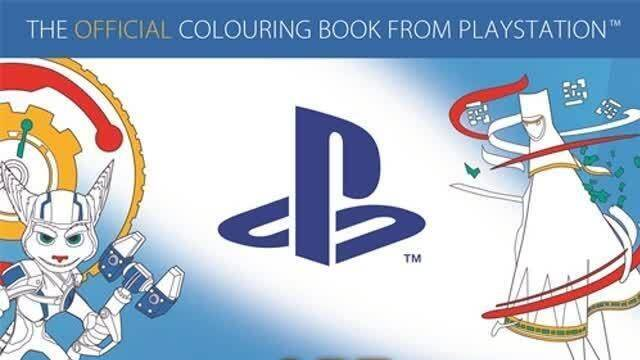 Ya disponible el libro de coloreado oficial de PlayStation - Vandal