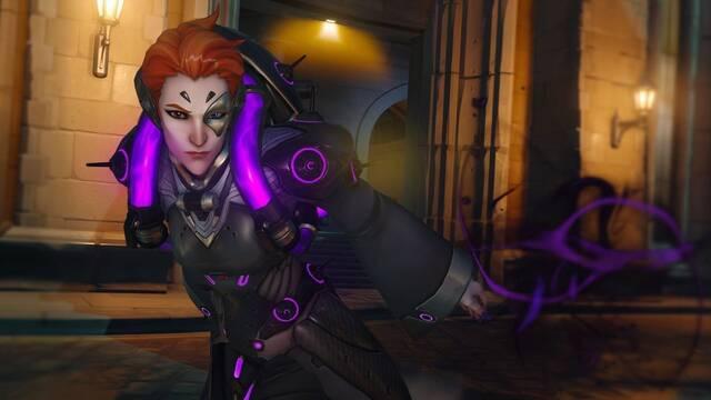 Moira, el nuevo personaje de Overwatch, corre como Naruto