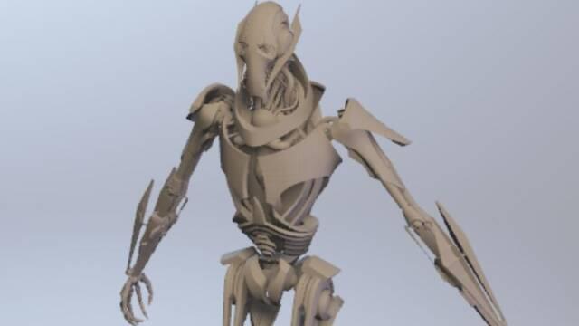 Encuentran el modelado de Grievous en Star Wars Battlefront II