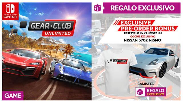GAME detalla sus incentivos exclusivos para Gear.Club Unlimited