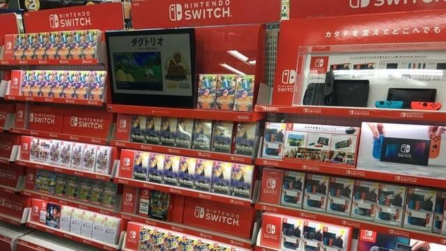 Nintendo Switch es la consola más vendida en Japón