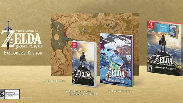 Zelda: BOTW muestra su nueva edición 'Explorer Edition'