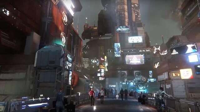 Star Citizen muestra sus enormes ciudades futuristas