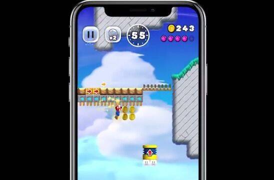 Nintendo muestra cómo se ve Super Mario Run en iPhone X