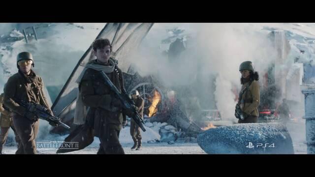 Star Wars Battlefront II presenta su tráiler de acción real