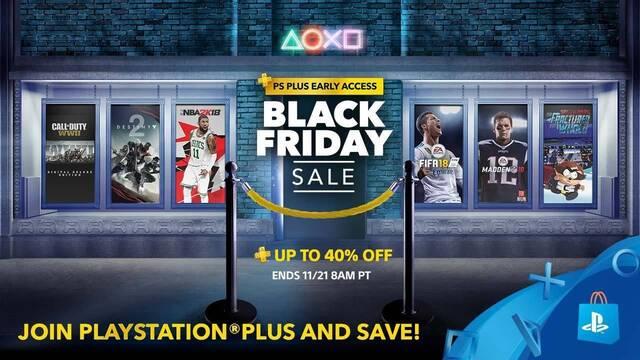El Black Friday en la PS Store USA empieza antes para usuarios de PS Plus
