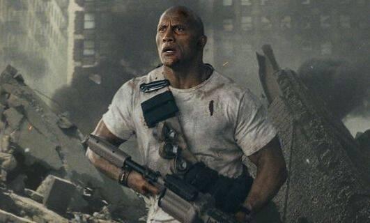Primeras imágenes de Dwayne Johnson 'La Roca' en la película de 'Rampage'