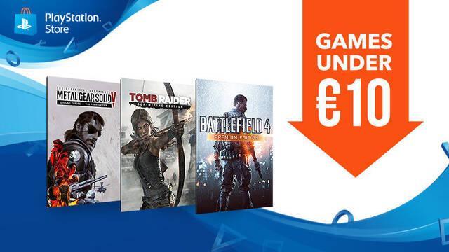 PlayStation Store ofrece multitud de juegos por menos de 10 euros a partir de hoy