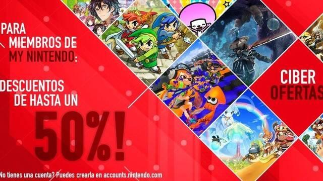 Nintendo inicia sus promociones Cyber Deals con motivo del Black Friday