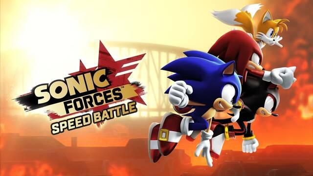 Sonic Forces: Speed Battle da la señal de salida y llega a iOS
