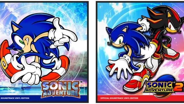 La música de Sonic Adventure 1 y 2 se editará en vinilo