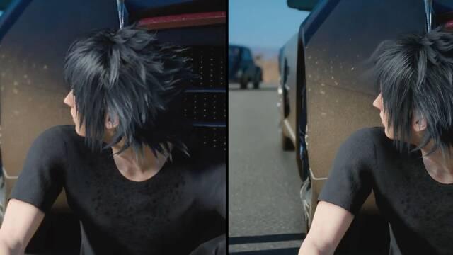 Comparan los gráficos de Final Fantasy XV en Xbox One, PS4 Pro y Xbox One X