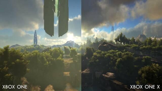 ARK: Survival Evolved muestra sus mejoras en Xbox One X en vídeo