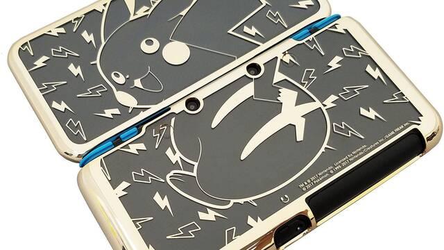 Hori anuncia una carcasa de lujo para New Nintendo 2DS XL con Pikachu