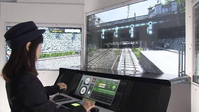 Un espectacular simulador de trenes llega a los arcade japoneses