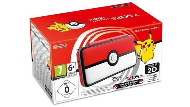 Gana con Vandal un pack de New Nintendo 2DS XL Pokéball con UltraSol / UltraLuna y la guía