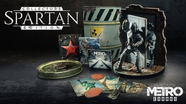 Metro Exodus presenta su espectacular edición coleccionista Espartan