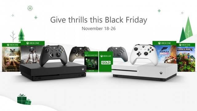 Xbox One X rebajará su precio a 399 € durante el Black Friday