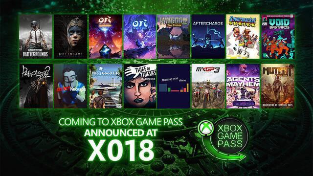 Microsoft anuncia 16 nuevos juegos para Xbox Game Pass