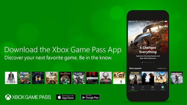 La aplicación para móviles de Xbox Games Pass ya está disponible