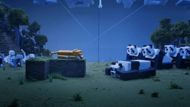 Gatos y pandas se preparan para llegar a Minecraft
