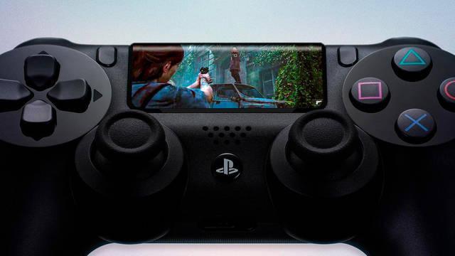 Sony patenta un mando con pantalla táctil que podría ser para PS5