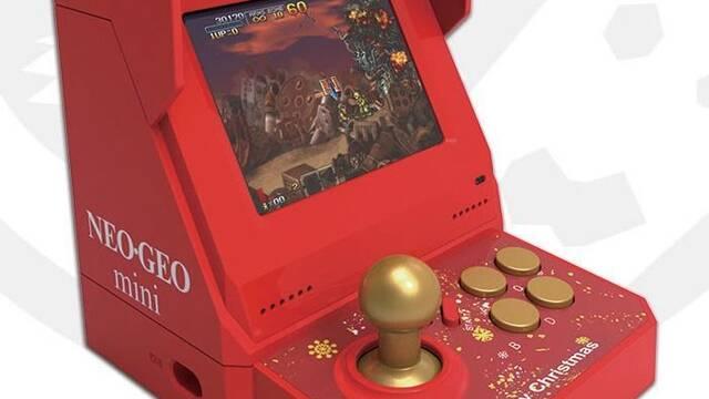Neo Geo Mini estrenará una edición especial de la consola para Navidad