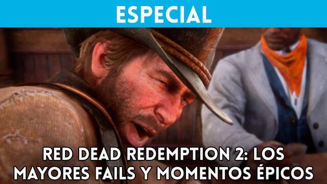 Los mayores fails y momentos épicos de Red Dead Redemption 2