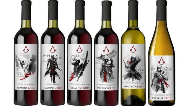 Así son los seis vinos inspirados en Assassin's Creed