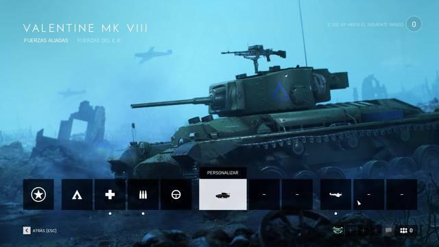Todos los vehículos de Battlefield 5