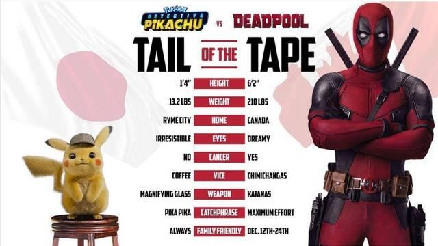Ryan Reynolds compara a Deadpool y Pikachu
