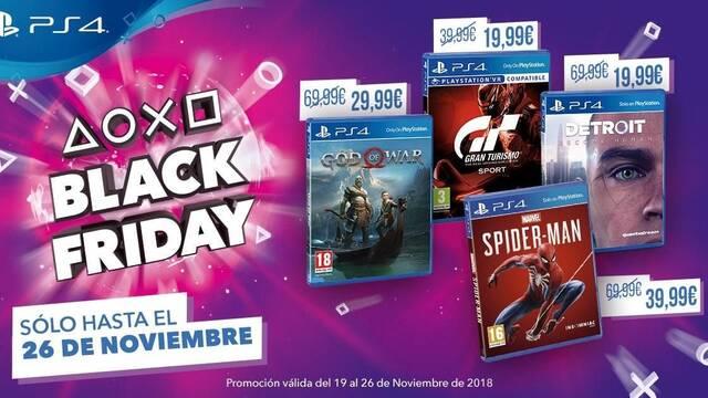 Black Friday 2018: Todas las ofertas de PS4 en formato físico