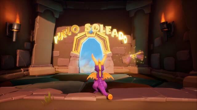 Vuelo Soleado en Spyro 1 - Cómo completar la contrarreloj al 100%