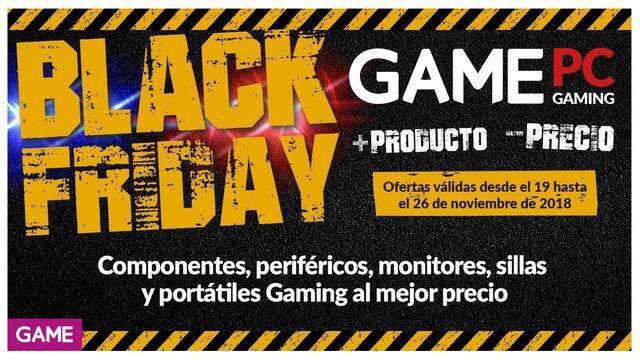 Black Friday 2018: Estas son las ofertas de GAME en PC gaming