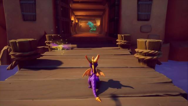 Tierra de los Pacificadores en Spyro 1 - Estatuas de dragón, Reinos y secretos