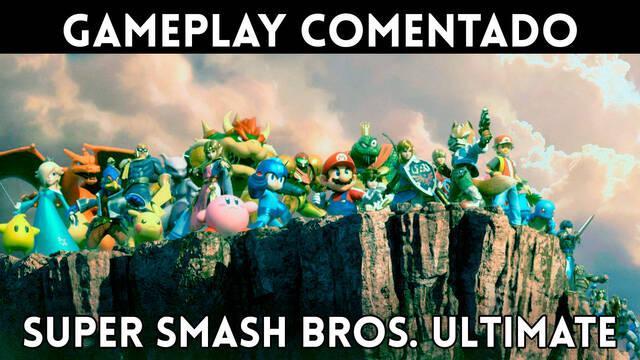 Super Smash Bros. Ultimate: Gameplay comentado del modo aventura