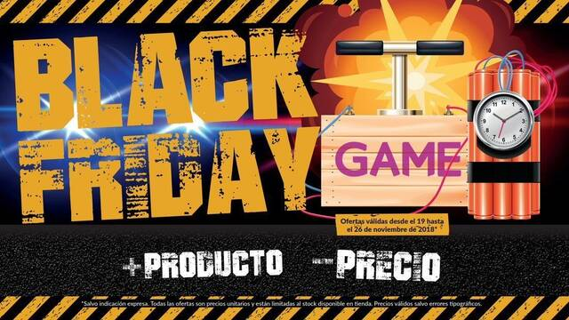 Black Friday 2018: Todas las ofertas de GAME en videojuegos