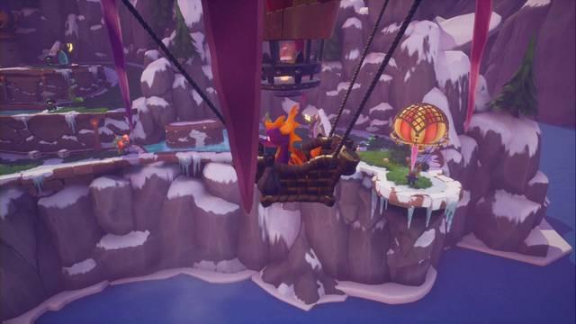 Tierra de los Hechiceros en Spyro 1 - Estatuas de dragón, Reinos y secretos