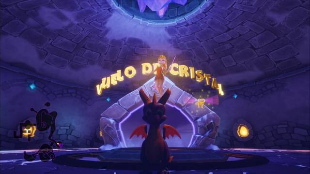Vuelo de cristal en Spyro 1 - Cómo completar la contrarreloj al 100%