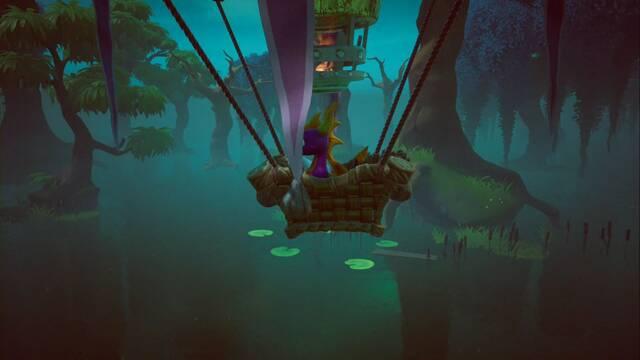 Tierra de los Creadores de Bestias en Spyro 1 - Estatuas de dragón, Reinos y secretos
