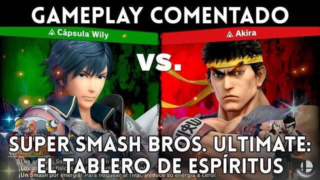 Super Smash Bros. Ultimate: Así es el Tablero de espíritus