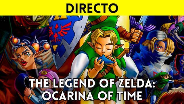 Jugamos en directo a Zelda: Ocarina of Time a partir de las 19:00