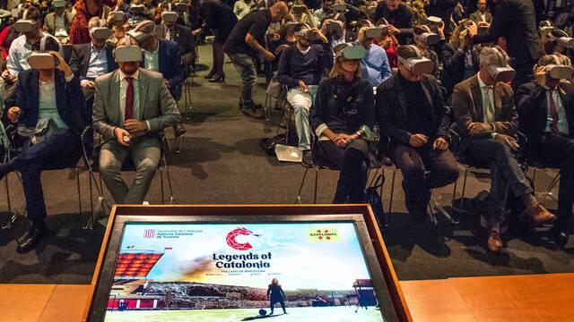 Así es el juego de realidad virtual Legends of Catalonia: The Land of Barcelona