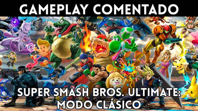 Super Smash Bros. Ultimate: Gameplay comentado del Modo Clásico