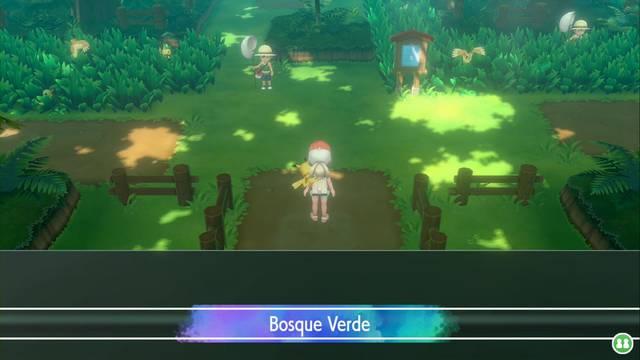 Bosque Verde en Pokémon Let's Go - Pokémon y consejos
