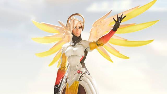 Overwatch presenta la figura de Mercy fabricada por Hasbro