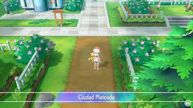 Ciudad Plateada en Pokémon Let's Go - Paso a paso y secretos